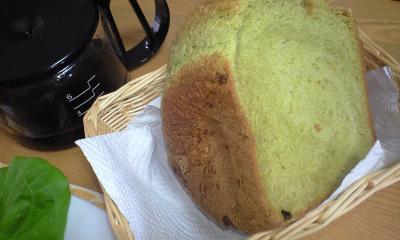 抹茶食パン (2)