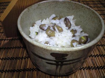 黒枝豆ご飯