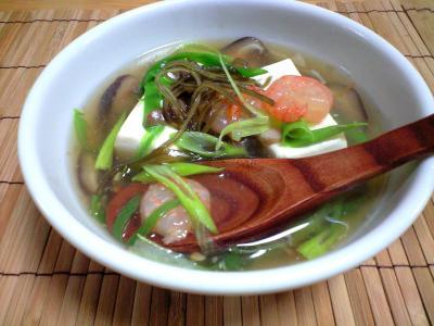 お豆腐スープ