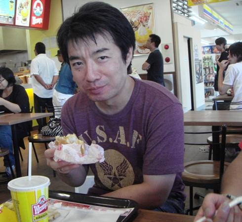 7-3ふかっちとハンバーガー