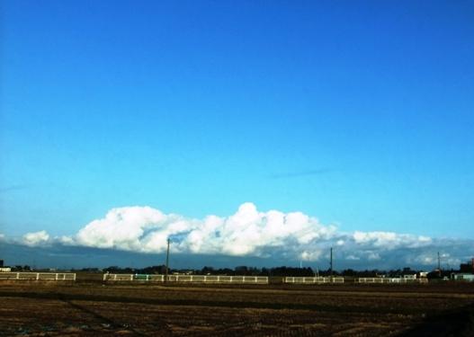 1-3越後連山の雲