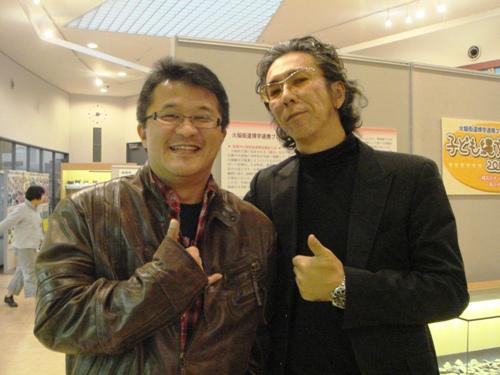 岩田浩史さんと石ちゃん