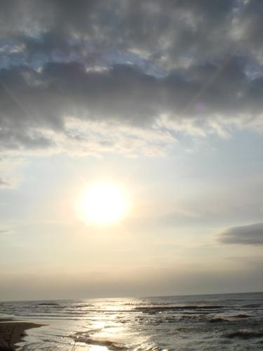 10夕日と日本海-5