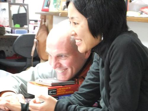 真琴とマイク