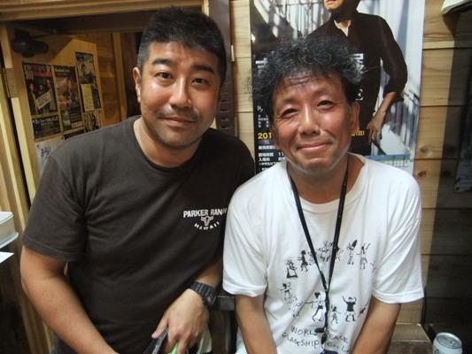 1-8マーシーと斉藤哲夫さん