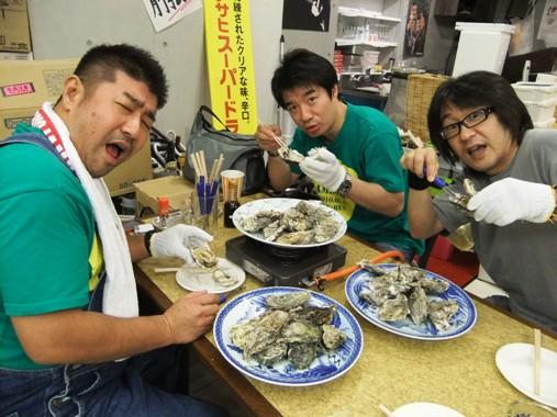 1-3牡蠣食べまくり