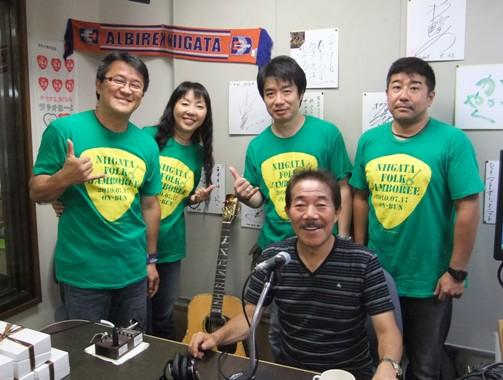 1-2-1ラジオで記念写真