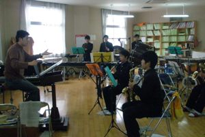 吹奏楽部室