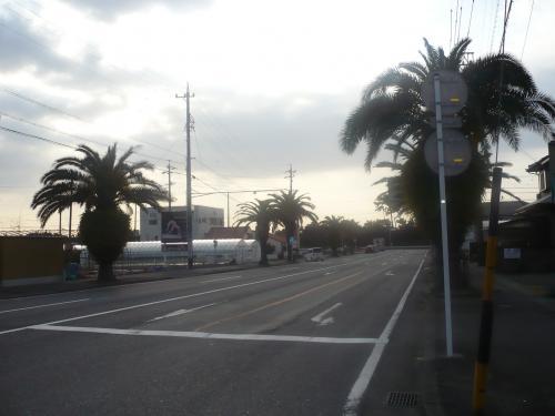 海につながる石田街道