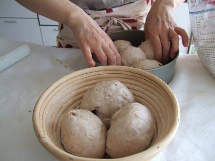 ヒロちゃんパン仕込み