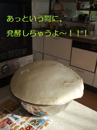 石窯パン作り1