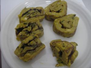卵なしの伊達巻 米粉&小麦粉
