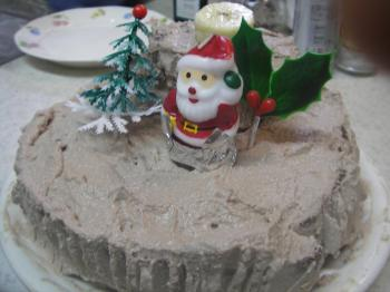 切り株のケーキ