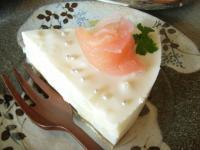 お茶菓子アップルレアチーズ2