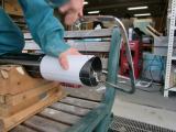 炭素繊維を削る・・・