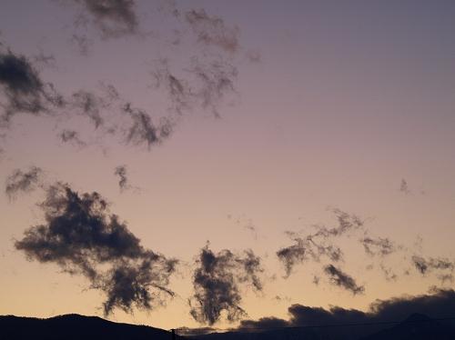 窓 夕日3