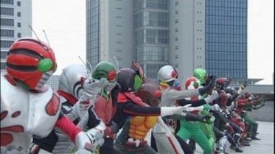 オーズ・電王・オールライダー レッツゴー仮面ライダー03