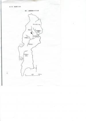 渡嘉敷河川図