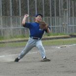 村岡三塁手