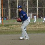 大渕三塁手