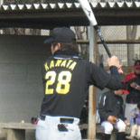 背番号28のユニを初着用した鎌田