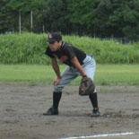 大渕一塁手