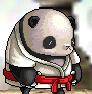 武道家のパンダ