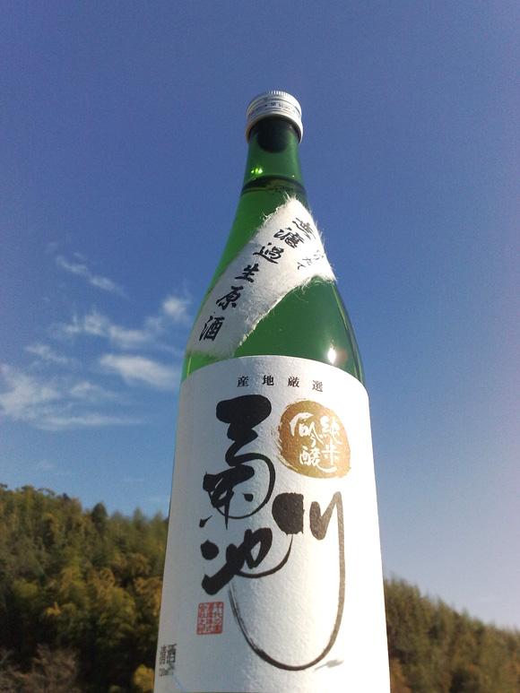 新酒、菊池川が完成