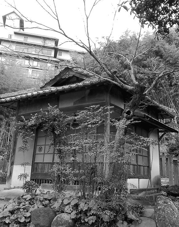 正観寺の離れ
