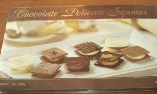 Chocolate Delicate Squares  外箱