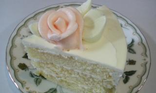バタークリームケーキ 断面