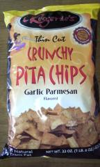 CRUNCHY PITA CHIPS