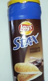 Lay's STAX MESQUITE BARBECUE