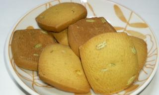 ペーストからていねいに作ったかぼちゃのクッキー 中身