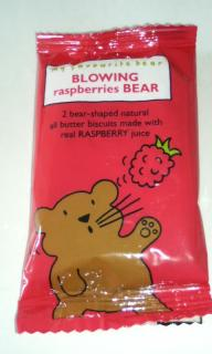 BLOWING raspberries BEAR