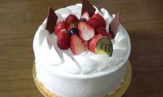 ジャルダンブルーのケーキ