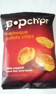 pop chips バーベキュー