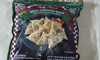Spinach & Mozzarella Ravioli