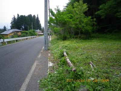 2011-6-10雑草刈作業