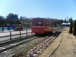 栃木のアルプスの登山列車