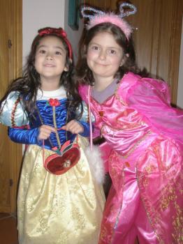 白雪姫とベル♪