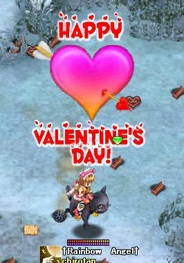 バレンタインいべw