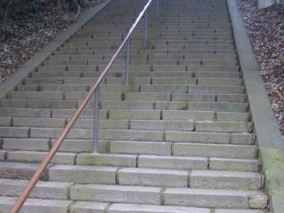 仙波東照宮の階段