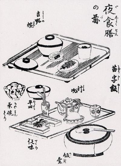 江戸時代の食事