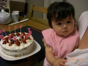 とろけるケーキ。