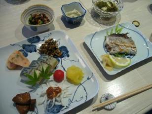 焼き魚は太刀魚。