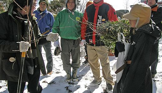 冬芽観察会-3