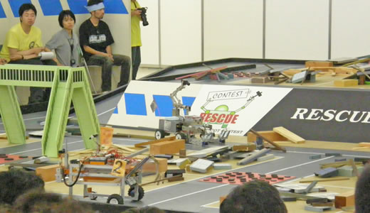 第9回レスキューロボットコンテスト2009-2