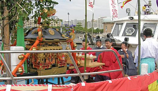 西宮まつり・えびすさんの船渡御(2)-1