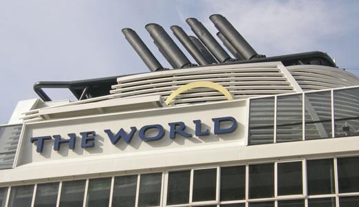 クルーズ客船・THE WORLD入港(2)-1